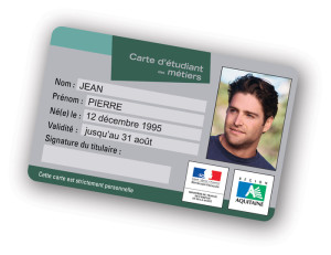 cartes PVC données variables photos