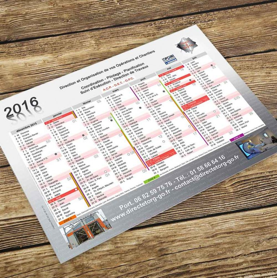 Impression de calendrier souple pas cher calendrier mural for Calendrier mural pas cher