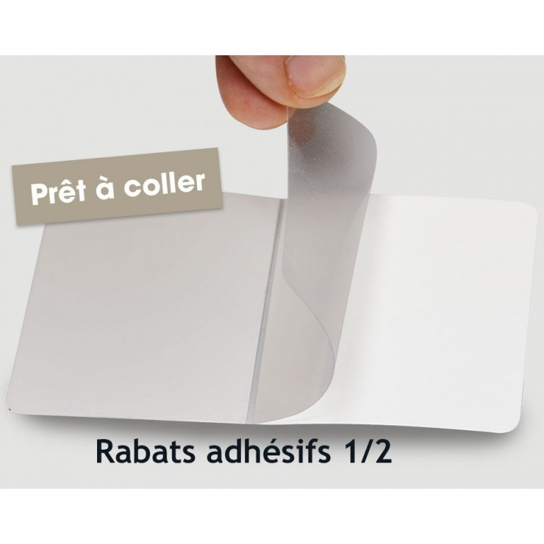 91 Carte De Visite Adhesives