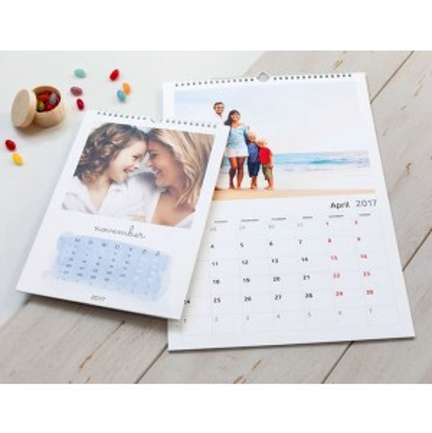 Impression de calendriers muraux