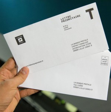 imprimer des enveloppes T personnalisées