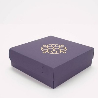 Boîte à rabat carrée