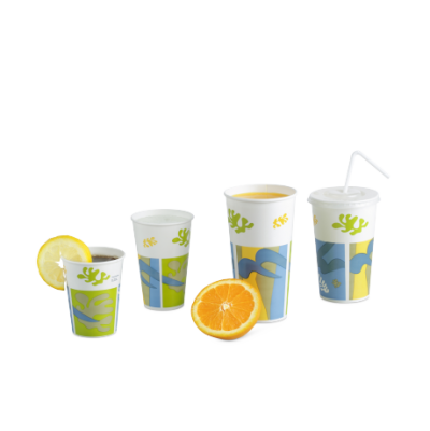 Gobelet en carton pour boissons froides