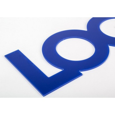 Lettre & Logo plexy 3 mm