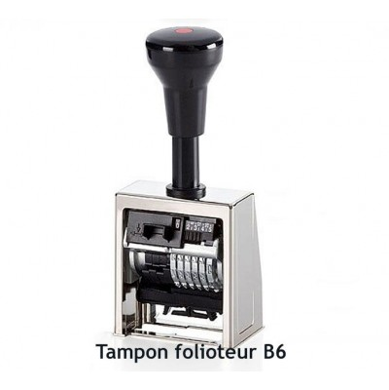 Tampon folioteur