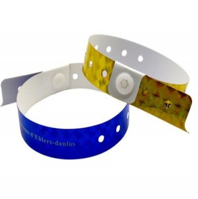 Bracelet holographique personnalisé