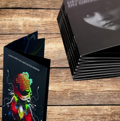 impression brochures et catalogues