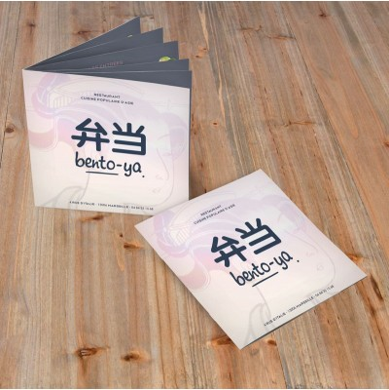 Imprimerie brochures restaurant