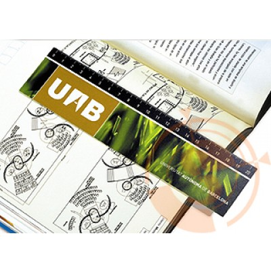 Calendrier couleur - marque page quadri