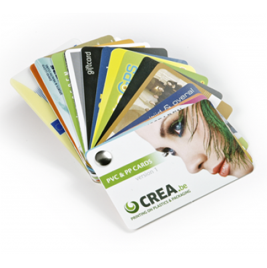 Impression de cartes plastiques PVC