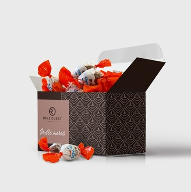 Coffret ballotin de chocolat personnalisés