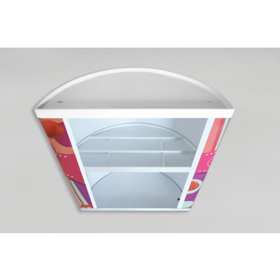 impression comptoir pvc stand