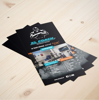 impression tracts prospectus flyer quadri à bas prix Papeo