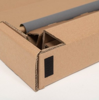 roll up personnalisé en carton