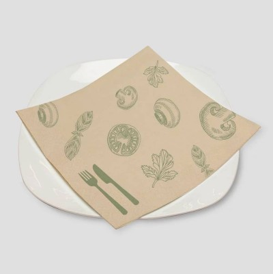 imprimer serviette restaurant